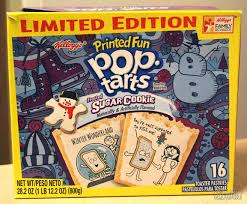 halloween frosted sugar cookies pop tarts cerealously part 2