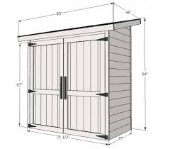 How To Build A Shed Against House by Best 25 Outdoor Bike Storage Ideas On Pinterest Bike Storage