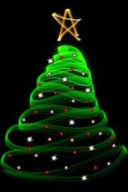 green neon christmas tree mobile phone wallpaper 240x320 free jpg