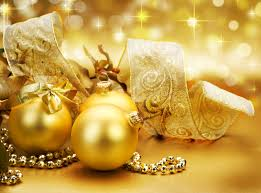 gold christmas silver and gold christmas theme party