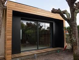 bureau de jardin design agrandissement de maison en lodge pour de l espace en plus