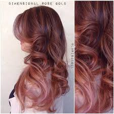 rose gold lowlights on dark hair close up of this amazingly luscious dimensional rose gold with