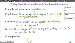 geometry 1 3 conditional statements youtube