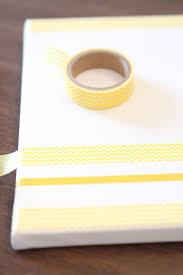 Washi Tape Wall by Washi Tape Canvas Wall Art Create Your Own