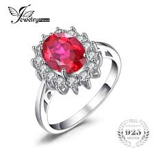 ruby and engagement rings jewelrypalace princess diana william kate middleton s 3 2ct