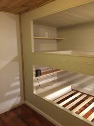 Build Your Own Wood Bunk Beds by Diy Wall To Wall Built In Bunk Beds And A Full Room Remodel