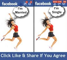 Girls On Facebook Meme - the difference between being single and in a relationship ready to