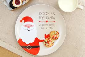 cookies for santa plate a magical personalized cookies for santa plate cool picks