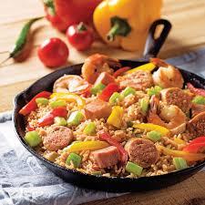 plat cuisiné au four jambalaya facile au four recettes cuisine et nutrition pratico