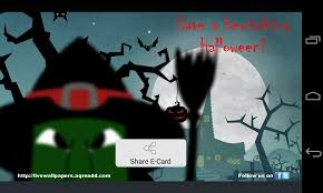 Halloween Birthday Ecard by Halloween Greetings Android Apps On Google Play