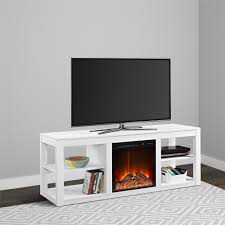 ameriwood furniture parsons electric fireplace for tvs up to 65