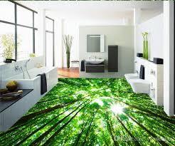 3d flooring mural wallpaper custom self adhesive photo floor