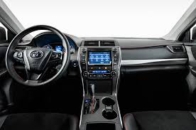 Toyota Camry Interior Parts 2017 Toyota Camry Xse I 4 First Test Review Motor Trend
