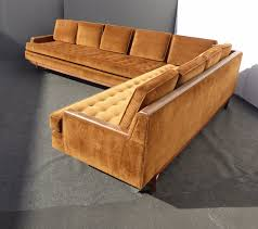 Vintage Sectional Sofa Furniture Classic And Traditional Style Velvet Sectional Sofa For