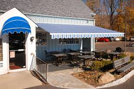 Striped Awning Commercial Awning Photos Business Awning Pictures Aristocrat