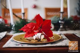 Dining Room Table Decorations For Christmas by Christmas Decorating Ideas For The Dining Room