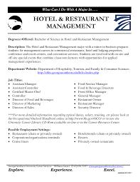 Front Desk Manager Resume Resume Hotel Manager Resume