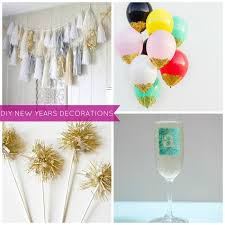 New Years Eve Homemade Party Decorations by Diy New Years Eve Party Decoration Ideas U2013 Sandy U0027s Party Plans