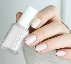 rose gold french tip nails mon cheri bridals