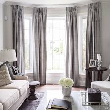 Home Window Decor Bright Ideas Curtains For Three Windows Decor Curtains