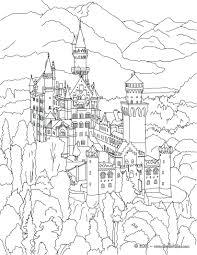 castle coloring page 27 interesting german pages shepherd german