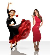 friends emoji sofia vergara is ready to be a flamenco dancer urban asian