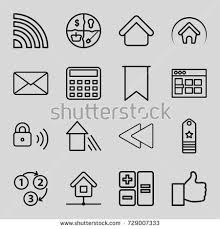 House Building Calculator Sketch Icons Set Set 25 Sketch Stock Vector 649090186 Shutterstock
