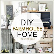 diy home interior home decor diy projects farmhouse design the 36th avenue