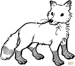 fox hound anniversary coloring page printables for kids free fox