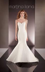 custom designer wedding dress martina liana wedding dresses