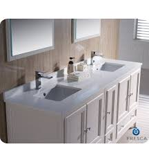 Bathroom Vanity 72 Double Sink Fresca Oxford 72