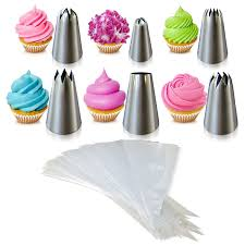 amazon com cupcake decorating kit the perfect cupcake by