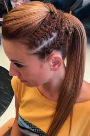 hair styles for a run ideas about track and field hairstyles cute hairstyles for girls