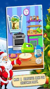 jeux de cuisine de de noel gratuit noël gâteau fabricant jeu gratuit cuisine enfants dans l app store