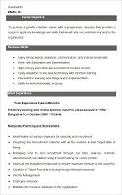 hr resume templates hr resume template vasgroup co