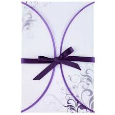 wedding invitations hobby lobby purple swirl vellum jacket wedding invitations hobby lobby 97875