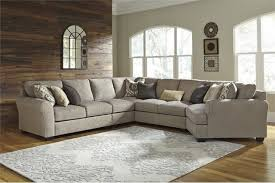 Left Facing Sectional Sofa by Ashley Pantomine 5 Piece Left Facing Sectional Driftwood