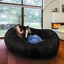 jaxx bean bag 7 ft giant bean bag sofa mandarin others 21739