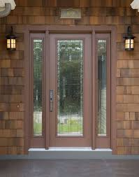 french doors with glass craftsman front door with exterior stone floors by linda machmeier
