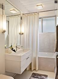 Bath Shower Ideas Small Bathrooms Bathroom Small Shower Curtain For Dark Or Light Ideas Navpa2016