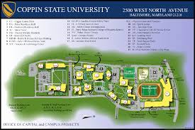 Umd Campus Map Mc3 Coppin State University