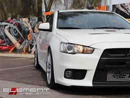 silver mitsubishi lancer 18 inch miro 563 gloss silver wheels on mitsubishi lancer evo w