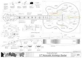 acoustic 6 string plans