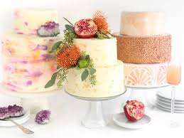 wedding cake decorating ideas 3 trendy easy ways to decorate a plain white wedding cake hgtv