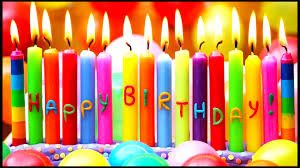 happy birthday candle happy birthday candle lights hd wallpapers rocks