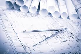 architecture blueprint house technical draw conductivity of water