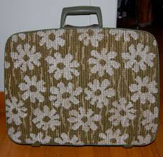 Modern Rug by Vintage Modern Rug Top Samsonite Fashionaire Suitcase From
