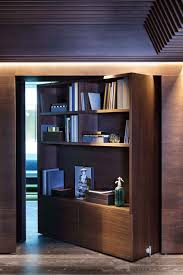 haptic architects pivot door joinery wall clever interior home