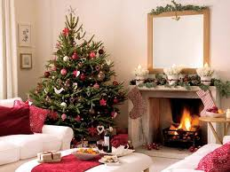 christmas tree interior decorating ideas left fireplace living