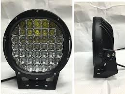 10inch 255w cree led offroad driving light 12v hight intensty spot flood beam round led car light for 4wd 4x4 truck led clamp work light led construction
